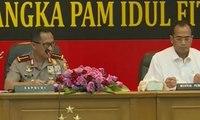 Polri dan Para Menteri Gelar Rakor Jelang Mudik Lebaran 2017