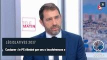 Elections législatives: le PS éliminé par ses «incohérences» selon Castaner