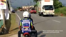81.Drag Racing - POCKET Mini Moto BiKE Race on streets! (Rossi vs Marquez)