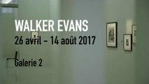 Bande-annonce | Walker Evans | Exposition