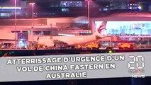 Atterrissage d'urgence d'un vol de China Eastern en Australie