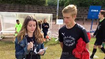Interview du capitaine de Rennes (Chpt de France UNSS de football)
