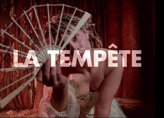 Teaser de LA TEMPETE de Derek Jarman