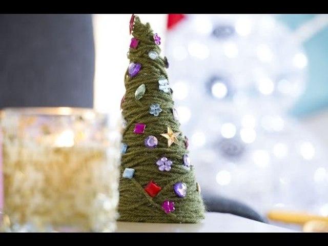 Petit sapin décoratif - DIY de Noël