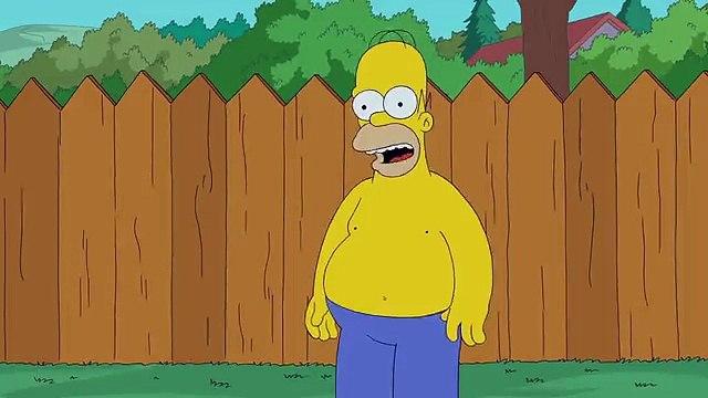 The Simpsons S25X01 Homer Simpson Ice Bucket Challenge
