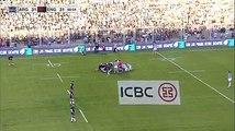 La mêlée exceptionnelle entre l'Argentine et l'Angleterre