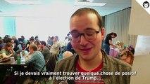 Que pensent les volontaires démocrates de Trump