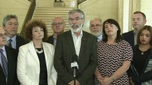 Gerry Adams warns against DUP deal with the Conservatives