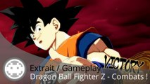 Extrait / Gameplay - Dragon Ball Fighter Z - Combats Cell V.S. Goku et plus encore !