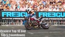Female / Girl Motorcycle Bike Stunting Stunt Compilation 2017