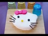 Gâteau Hello Kitty facile et mignon (décoration en pâte à sucre)