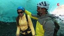 Alaska : dans les entrailles bleues du glacier de Mendenhall