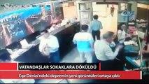 Ege Denizi'ndeki depremin yeni görüntüleri ortaya çıktı