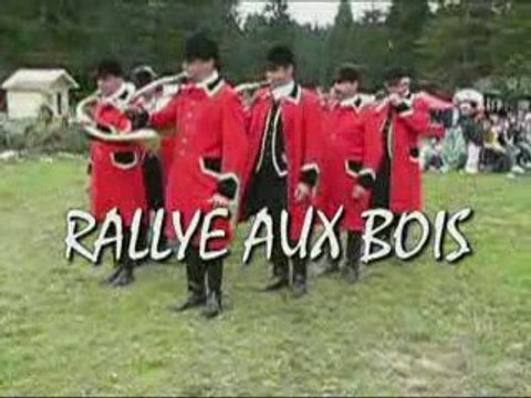 "Cors de chasse ""rallye aux bois"""