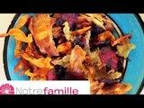 Recette Chips de légumes - Les P'tites Recettes
