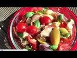 Recette Salade de pâtes colorée - Les P'tites Recettes