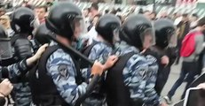 Heavy Police Presence and Large Number of Arrests in Moscow on Day of Protests