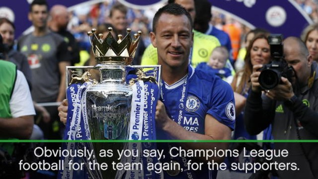 Chelsea back where they belong - Terry