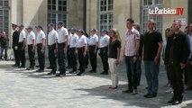Couple de policiers tués : un an après, hommages et minute de silence dans les Yvelines