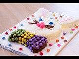Gâteau lapin de Pâques chocolat et noix de coco (gâteau de Pâques)