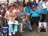 Presidente Moreno encabezó la entrega de viviendas a personas discapacitadas en Manta
