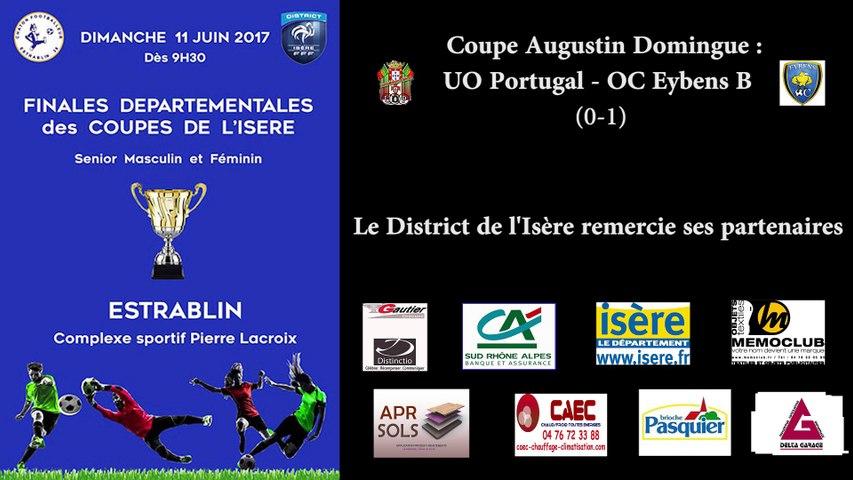 Coupe de l'Isère : UO Portugal - OC Eybens B (0-1)
