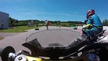 Championnat Suisse Pocket Bike Open Romont 2017 Manche 1