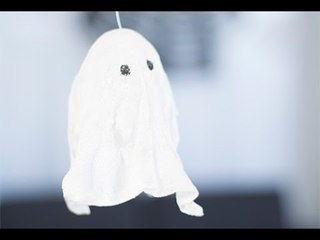 Déco Halloween : Fantômes en suspension