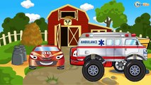 Eğitici çizgi film - Mavi Polis arabası ve Ambulans - Akıllı Arabalar - Türkçe İzle,Çocuklar için çizgi filmler izle 2017 part 2/2