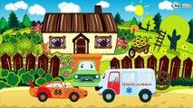 Eğitici çizgi film - Sarı Ekskavatör - İş makineleri - Akıllı Arabalar - Türkçe İzle,Çocuklar için çizgi filmler izle 2017 part 2/2
