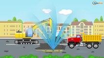 Eğitici çizgi film - Kırmızı Yarış Arabası ve Ambulans - Akıllı Arabalar - Türkçe İzle,Çocuklar için çizgi filmler izle 2017 part 2/2