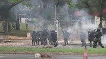 Al menos 4 estudiantes detenidos y 2 policías heridos durante protestas en Panamá