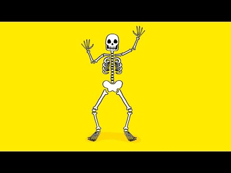 Comment Dessiner Un Squelette Pour Halloween