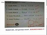 63.Jawaban lucu anak saat Tes (ujian) Sekolah - Tes Kepribadian Psikotes