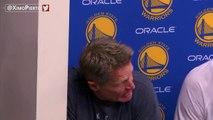 Steve Kerr Pregame Locker Room Speech - Game 5   Cavaliers vs Warriors   June 12, 2017   NBA Finals