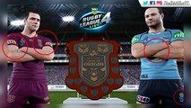 40.RUGBY LEAGUE LIVE 4 - STATE OF ORIGIN SCREENSHOT - SPONSORS - RELEASE DATE RUMOURS