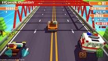Ambulans soforu ambulans surme oyunu,Çocuklar için çizgi filmler izle 2017