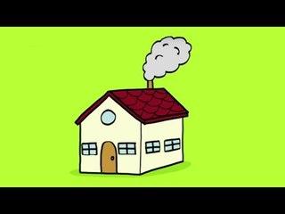 Apprendre à dessiner une maison