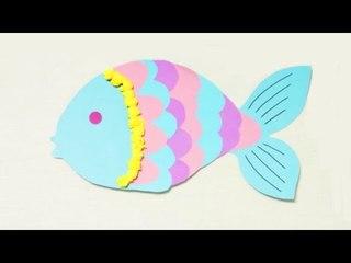 Bricolage de Carnaval. Fabriquer un poisson d'Avril