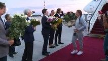 Roland-Garros: Ostapenko de retour à Riga après sa victoire