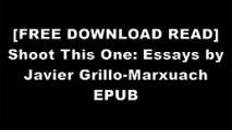 [8XIC4.[F.r.e.e] [R.e.a.d] [D.o.w.n.l.o.a.d]] Shoot This One: Essays by Javier Grillo-Marxuach by Javier Grillo-MarxuachGreg SesteroJacqueline CareyNeil Gaiman WORD