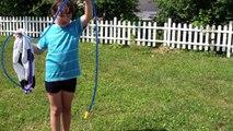Ballon de Foot splash Water - Piscine et jet d'eau Fun