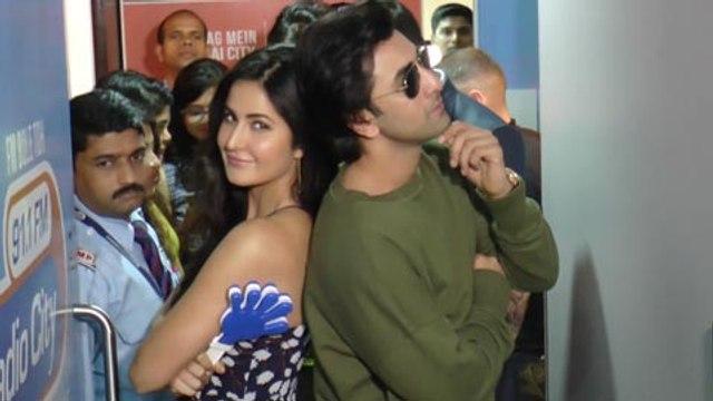 Ranbir Kapoor And Katrina Kaif Promote Jagga Jasoos Together At Radio City In Mumbai