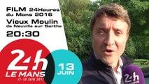 Diffusion du film officiel des 24 Heures du Mans 2016 à Neuville sur Sarthe