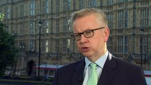 Michael Gove says he supports Theresa May's Brexit approach