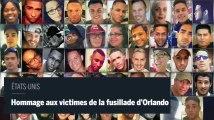 Un an après la fusillade d'Orlando, hommage aux 49 victimes