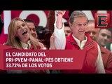 El PREP da ventaja a Alfredo del Mazo en el Estado de México