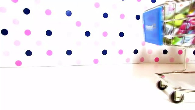 SURPRISE TOYS WALMART SHOPPING CART with AG Doll Ashlyn