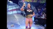 Stephanie McMahon, Kurt Angle and Chris Benoit Segment