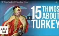 Alux'un 15 Maddede Türkiye Hakkında Bilmedikleriniz Videosu